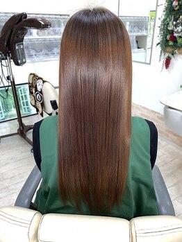 ヘアーワールド ゼロ(Hair world Ze:Ro)の写真/美髪チャージと併用して髪質を改善!TVやSNSで話題の【美髪チャージサイエンスアクア】導入店◎