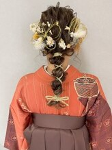 ヘアー アトリエ アンジー(Hair Atelier Angee)ヘア アレンジ