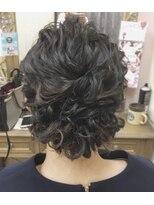 ヘアセットサロン アトリエ チャイ(Hair set salon atelier CHAI)ユルくしゅアップ