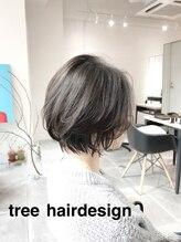 美容室 ツリー(Tree)ノンブローでおさまる大人 ボブ 『Tree hairsalon 』本厚木