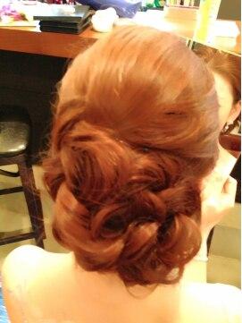 結婚式の髪型(レトロヘアアレンジ) ヴィンテージレトロアップ♪