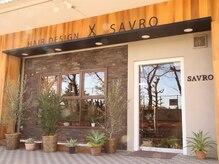ヘアーデザイン サヴロ(HAIR DESIGN SAVRO)の雰囲気(駐車場3台完備!お店正面から見て裏側にございます。)