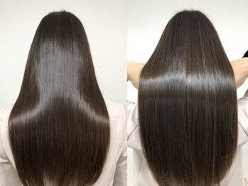 サロン(Salon)の写真/髪質改善メニュー《LINK/ケラコラ etc...》大人女性の為の本格ケア&髪質改善なら【Salon】にお任せを♪
