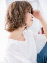 オギクボ ヴォイス(voice)髪質改善voice荻窪★オンブレくせ毛風のふわミディi