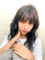 ヘアサロンエムピーズ イケブクロ(HAIR SALON M P's 池袋)顔まわりレイヤー☆ミディアム