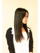 アビタ ヘアーメイク(Habita Hair+Make)輝髪でツヤツヤ☆ナチュラルストレート