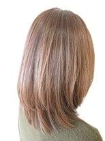 【PONO HAIR】 ミディアムレイヤー