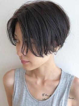 カーイ(Kkaaai powered by Ari gate)の写真/骨格や髪質にあわせたカットで、毎日のスタイリングが扱いやすく楽しくなる♪お悩み、相談してください!