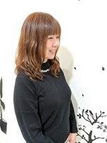 バンブーヘアクラブ 常盤平店春スタイル ゆるパーマ