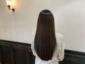 2席のみの美容室 アナイス(Anaiss)の写真/《髪質改善ヘアエステ》で子どものような【サラサラ素髪】へ導く極上のトリートメントがここに誕生!