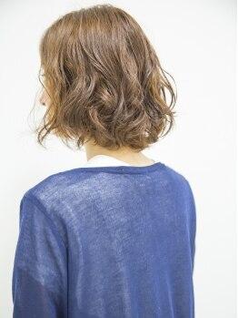 verの写真/通常入れない薬剤を、プラスエッセンスとしてあえて加えて施術☆髪質に合わせた、思い通りのスタイルへ♪