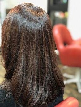 クラウドヘアー CLOUD HAIRの写真/ファーストグレイ世代やグレイ世代の方にオススメ!白髪染とは思えないほどのナチュラル感&ツヤ感が叶う◎