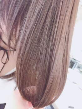 アブソルート(absolute)の写真/髪の悩み別システムトリートメント《Aujua》でなりたい髪質になれる♪パサパサな髪も潤いのあるツヤ髪へ★