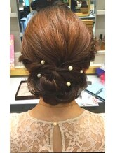 アトリエはるか 京急川崎店(HAIR DRESSER by アトリエはるか)クラシカルアップスタイル