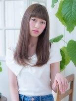 オーブ ヘアー フィオーレ 京都桂店(AUBE HAIR fiore)☆クールなストレートロング☆