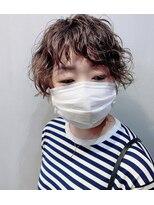 コンパス(COMPASS)【マスクヘア】ショートラフウェーブ
