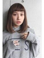 N/92co. オン眉×ミディアムヘア