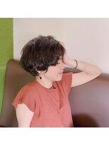 ヘアーサロン オーツー(HAIR SALON O+O)くせを活かす柔らかショート