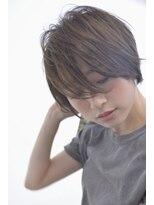 バルーンヘアー(BALLOON HAIR)シンプル/ベーシック[かっこいいショートスタイル][表参道]