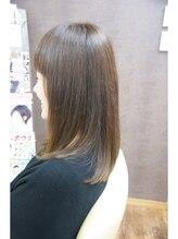 チチカカ スター ライズ ヘアー(chi chi ka ka star rise hair)営業ビフォーアフター、産後脱毛後の髪を上質縮毛矯正