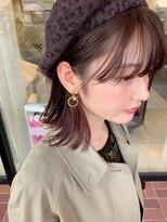 【櫻井 聖】耳かけで見えるイヤリングカラー