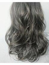 ヘアーアンドアイラッシュ ヨーク(Hair&eyelash york's)ダークシルバーアッシュ