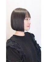 フェイス 池袋店(face)face池袋【eriko】黒髪ぷつん★ボブ