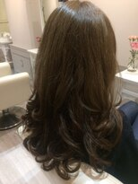 ヘアー カラー キー(HAIR color KEY)スモーキーマットアッシュ美人カラー