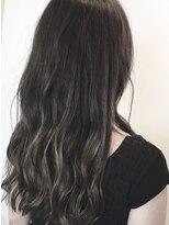 フレイムスヘアデザイン(FRAMES hair design)ゆるふわロング×ヌーディーグレージュ