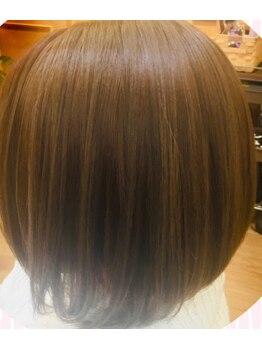 サプール(Sapeur)の写真/【シャキーンとなり過ぎないナチュラルな仕上がり!】体験してみませんか♪湿気や汗でうねる髪…抑えます!!