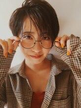 ポッシュ 原宿店(HAIR&MAKE POSH)艶カラー × ショート