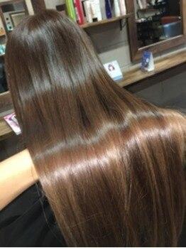 ブリーズ (BLISE)の写真/【髪質改善】超音波トリートメントでダメージレスに♪髪や頭皮のダメージに合わせて潤い&艶髪へ導きます*