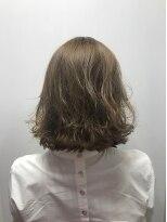 ポッシュ 原宿店(HAIR&MAKE POSH)ハイトーンブラインカラー