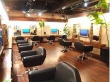 ヘアリゾート ディアリウム(Hair Resort DEARIUM)の雰囲気(町田でrelax♪ソファータイプのセット椅子は座り心地良いです。)