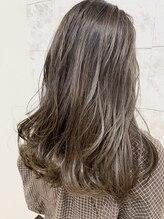 ウーデヘアー(ode hair)グレージュカラー