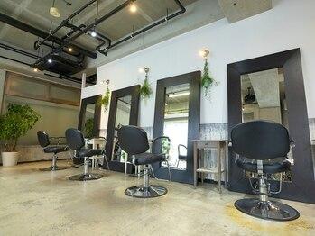 オリーブフォーヘアー(olive For hair)の写真/【リニューアルOPEN】実力派Stylistによる隠れ家サロン。少人数制ならではのリラックス空間で潤い美髪へ♪