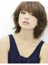 ヘアエジェリプリム (hair&spa egerie prime)恵比寿大人女性に人気くしゃくしゃボブがかわいいレイヤーボブ★