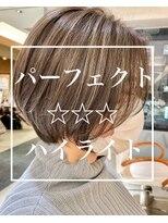 ヴァンカウンシル 札幌本店(VAN COUNCIL)色気ただよう極上ボブ/ハイライト/大人かわいい/ブリーチ