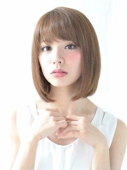 ブルーム ヘア デザイン(bloom hair design)の写真/クセを伸ばすだけじゃないナチュラルな仕上がりが大好評☆毛先までなめらかな質感と自然な艶感の美人髪に♪
