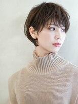《美髪ネイビーカラーなマニッシュボブ n.15》牧田じゅん