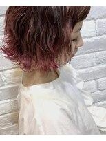 ヘアメイク アプト モカレーベル(HAIR MAKE apt mocalabel)グラデーションカラー