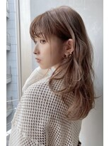 ノットバイベル 大宮(knot by belle)あざといモテ髪♪ミルクティーカラー