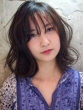ルカ(RUCA)シースルーバングルのナチュラルウェーブ☆RUCA Style