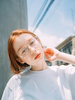 ソワ(SOIE)の写真/【表参道駅 徒歩5分】抜け感×透明感で、肌まで綺麗に魅せる遊び心を加えるのが◎似合わせカラーはSOIEで