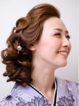 浴衣に似合う髪型アレンジ アネーラ(ANERA)【ANERA】大人可愛い浴衣スタイル
