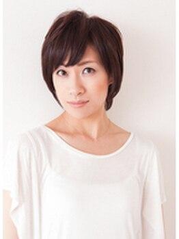 イロドリ 美容室 ポルト(irodori)の写真/【髪にも生活にもIRODORIをプラスして♪】熟練スタッフによる大人女性ショートスタイルを実現します☆