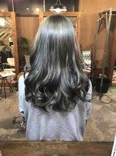 ジース(JY'S)巻き髪ロング ダブルカラー