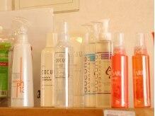 美容室リーフ 中央店の雰囲気(いいものだけを取り揃えてます!セルフケアにも☆)