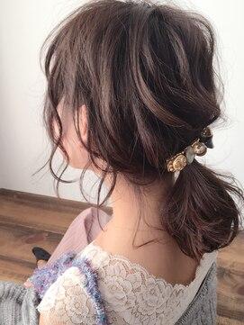 ruf hair design】抜け感簡単ポニーテールアレンジ:L009431555