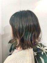 ヘアーメイク アフィーノ(hair make affino)[affino大宮]外ハネミディアム